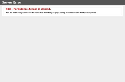 404 Forbidden Access is denied.