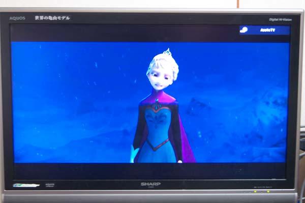 アナ雪の動画