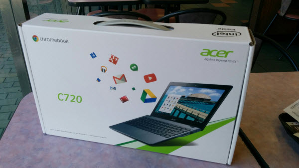 Acer C720 Chromebook セットアップ3