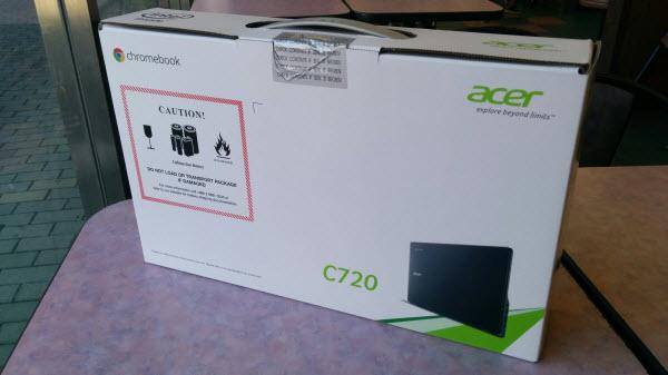 Acer C720 Chromebook セットアップ4