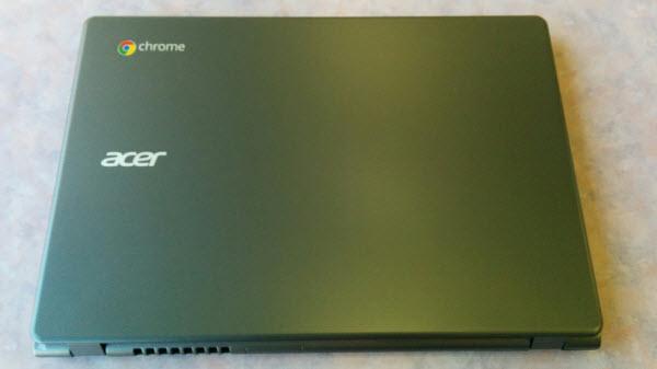 Acer C720 Chromebook セットアップ11