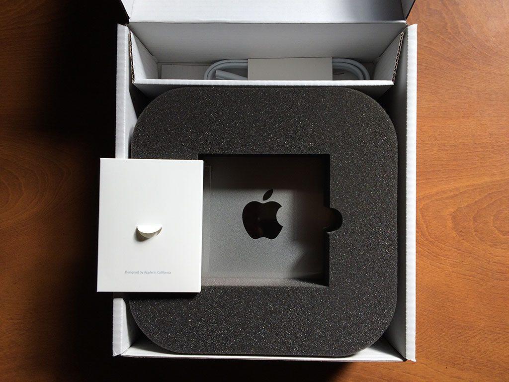 Mac Mini (Late 2014) 整備済製品 開梱イメージ2