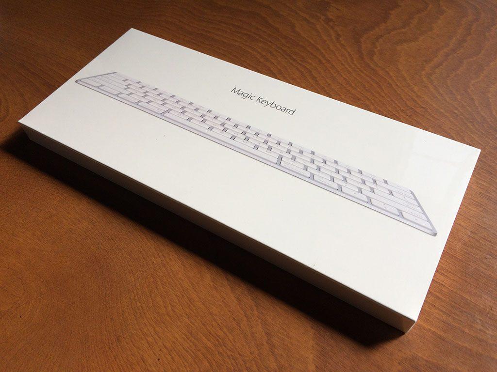 Magic Keyboard 梱包外観イメージ1