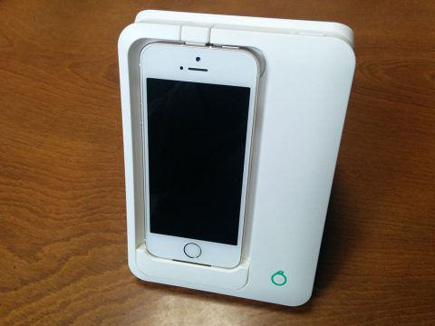 Omoidori iPhone装着イメージです