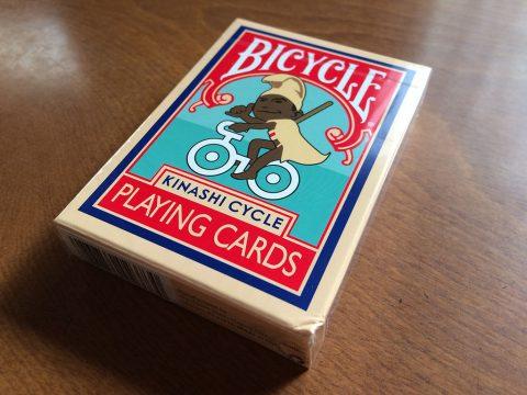 トランプ(BICYCLE×KINASHI CYCLE)パッケージイメージ1です