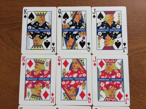 トランプ(BICYCLE×KINASHI CYCLE)カードイメージ5です