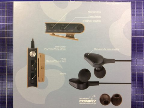 GLIDiC Sound Air WS-7000NC 外箱裏面です