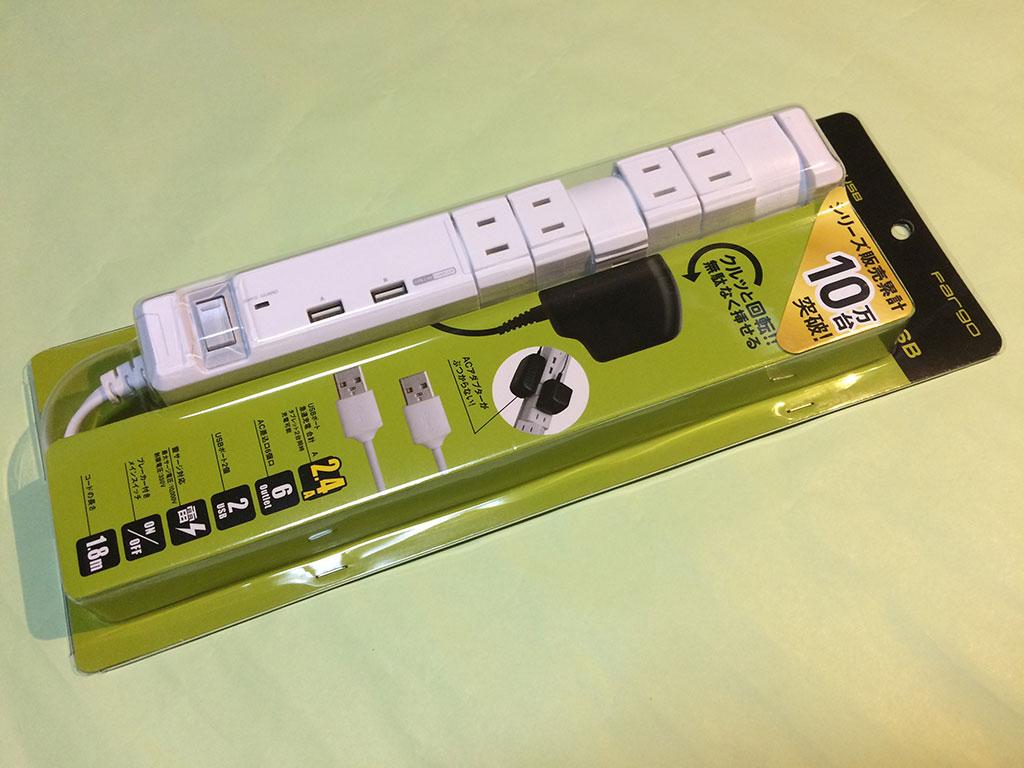 TAP KING USB PT600WH パッケージです