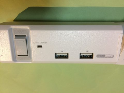 TAPKING USB PT600WH USBポートです