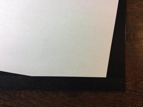 HINGE(ヒンジ)コピー用紙の差し込みです