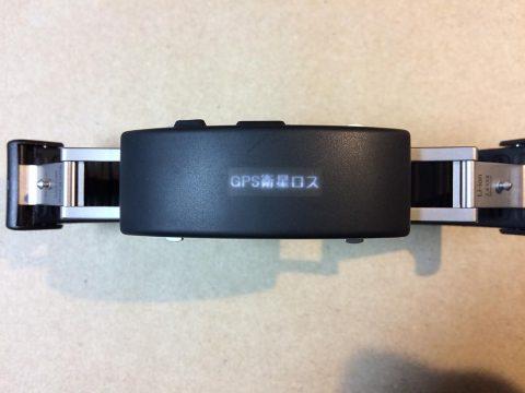 wena wrist active GPS衛星ロスト表示です