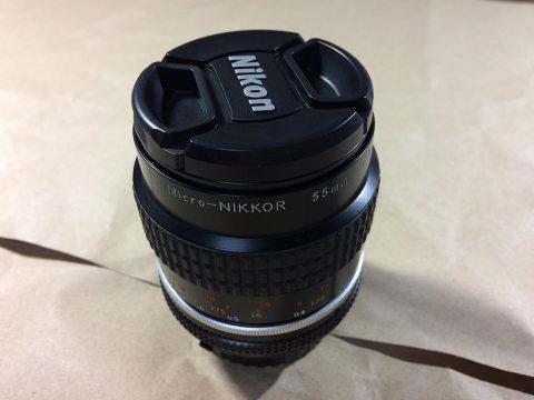 Nikon Micro-Nikkor 55mm f/2.8 本体です。