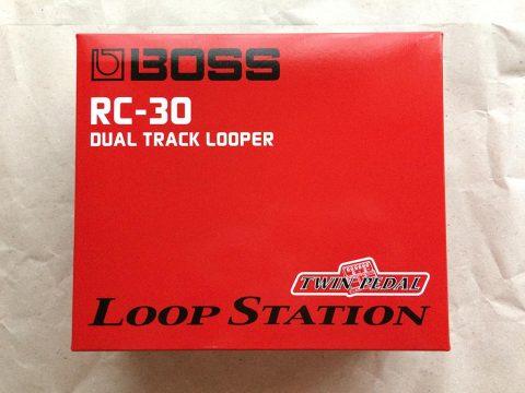 BOSS Loop Station RC-30 外箱正面です