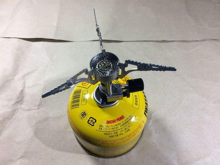 PRIMUS FEMTO STOVE P-115 設置完了です